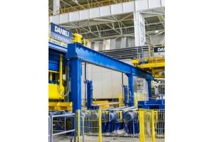 На ОЭМК готовятся запустить обновлённый прокатный стан-350